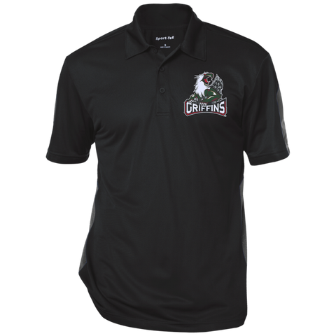 Grand Rapids Griffins Performance Textured Three-Button Polo