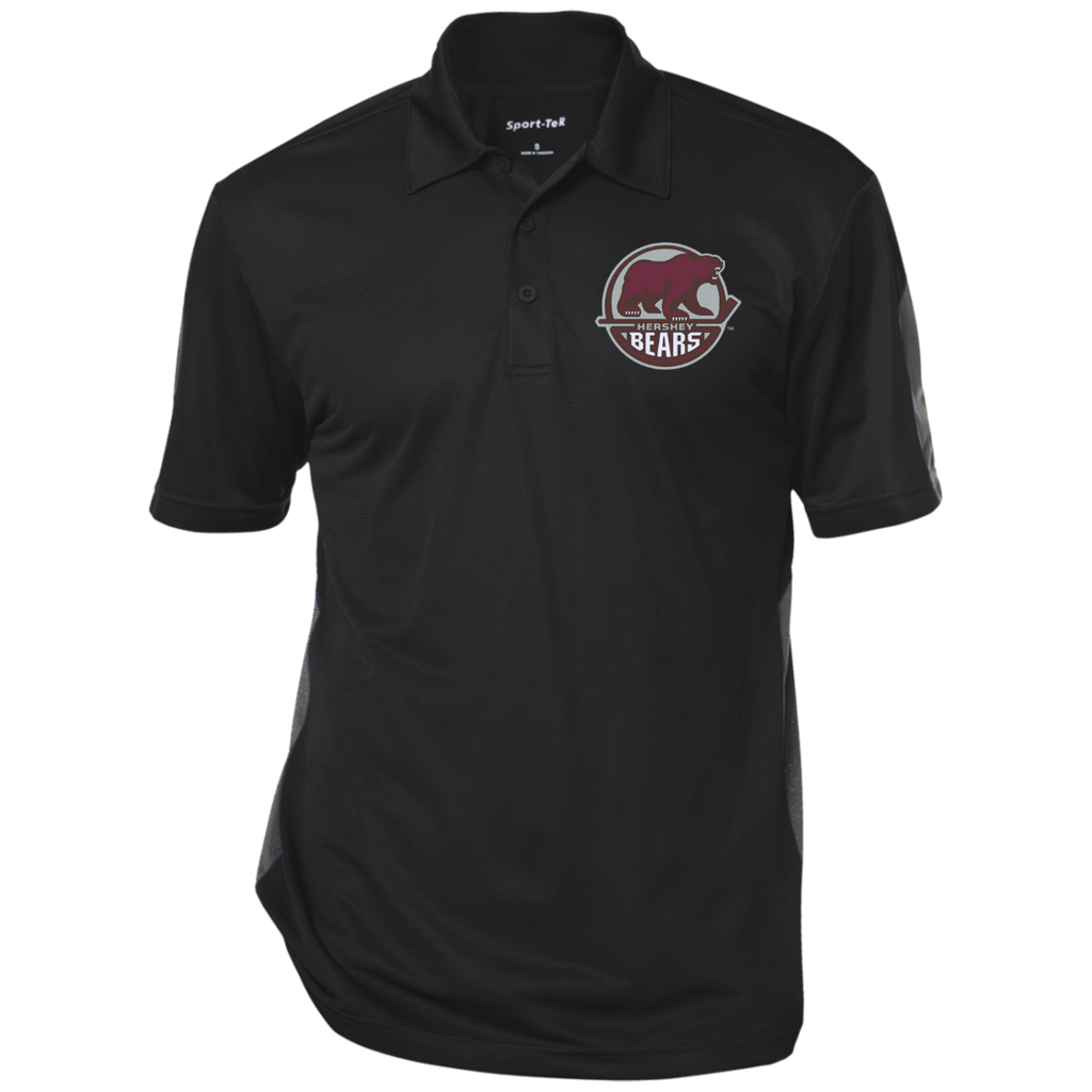 Hershey Bears Performance Textured Three-Button Polo