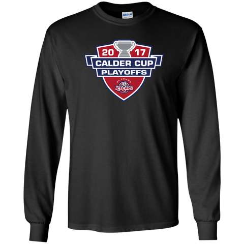 St. John's IceCaps Adult 2017 Calder Cup Playoffs Long Sleeve Shirt