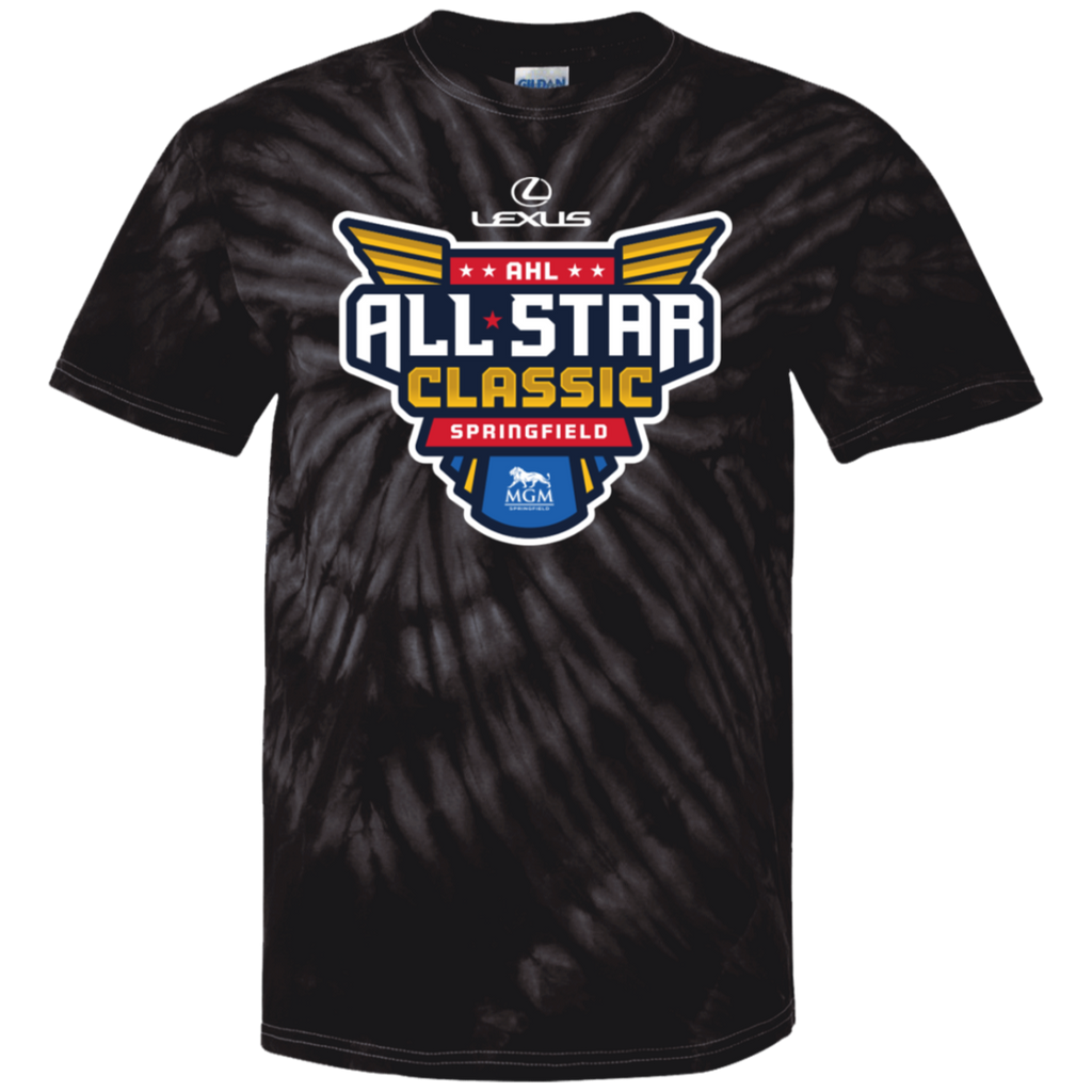 2019 AHL All Star Classic Primary Logo Youth Tie Dye T-Shirt