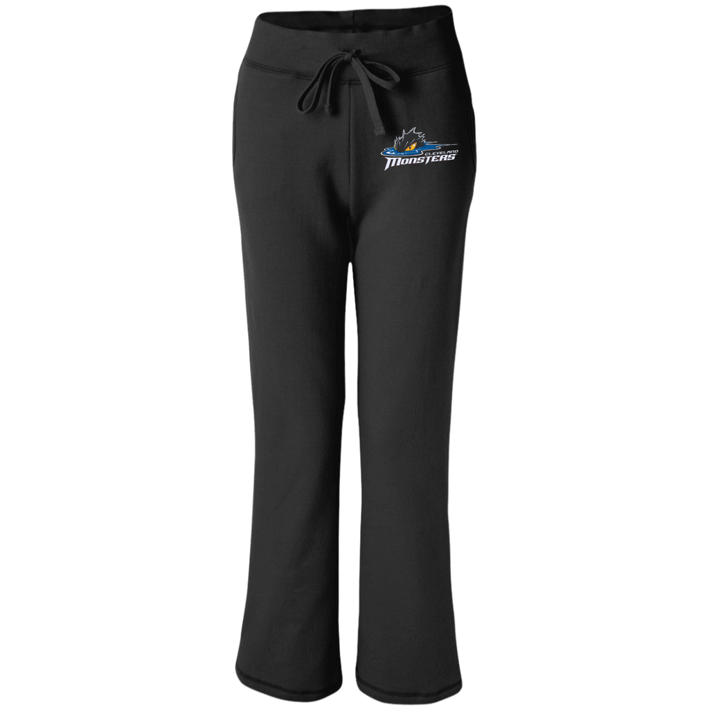 Cleveland Monsters Women's Open Bottom Sweatpants with Pockets