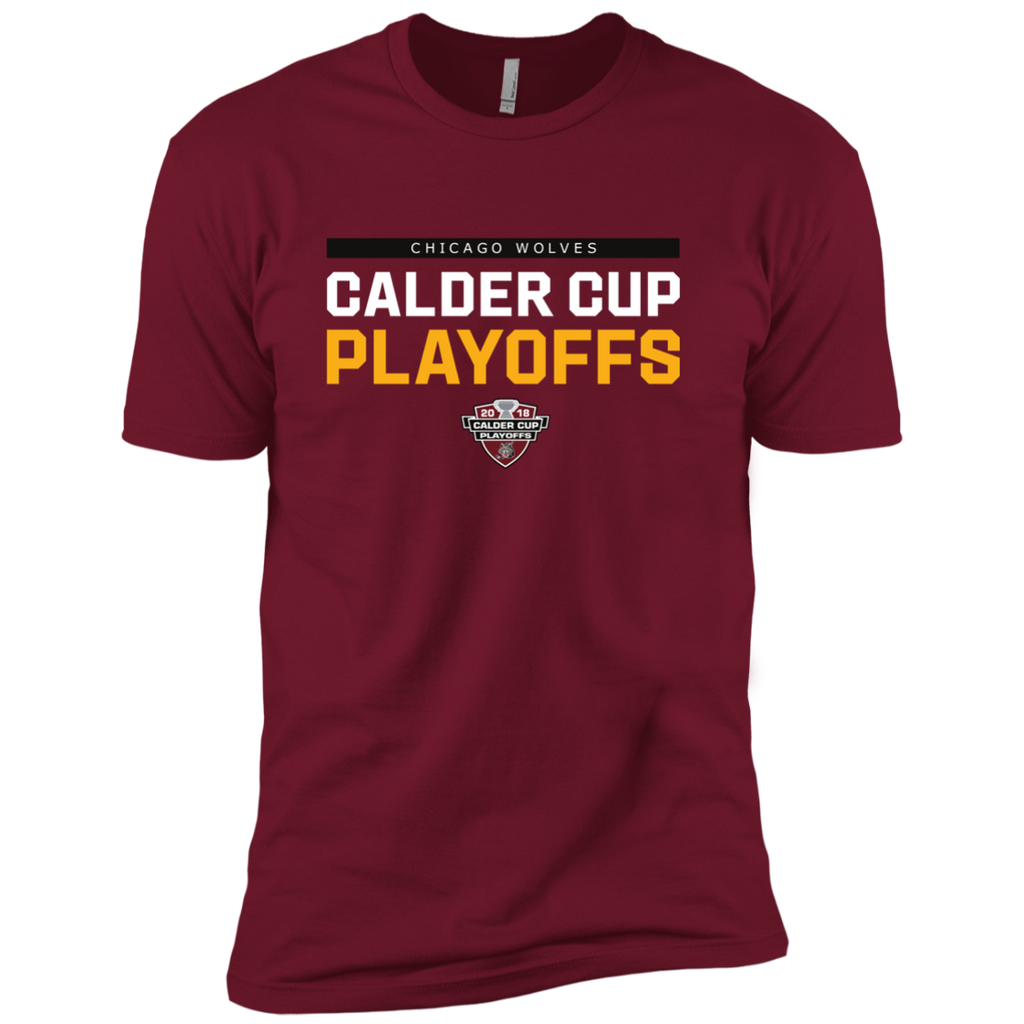 Chicago Wolves 2018 Postseason Next Level Premium Short Sleeve T-Shirt