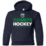 Utica Comets Hockey Youth Pullover Hoodie
