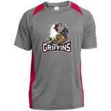 Grand Rapids Griffins Youth Colorblock Performance Tee