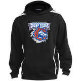 Bridgeport Sound Tigers Adult Sleeve Stipe Hooded Pullover