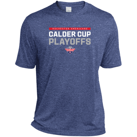 Rochester Americans Adult 2018 Postseason Heather Dri-Fit Moisture-Wicking T-Shirt