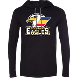 Colorado Eagles Primary Logo Adult Long Sleeve T-Shirt Hoodie