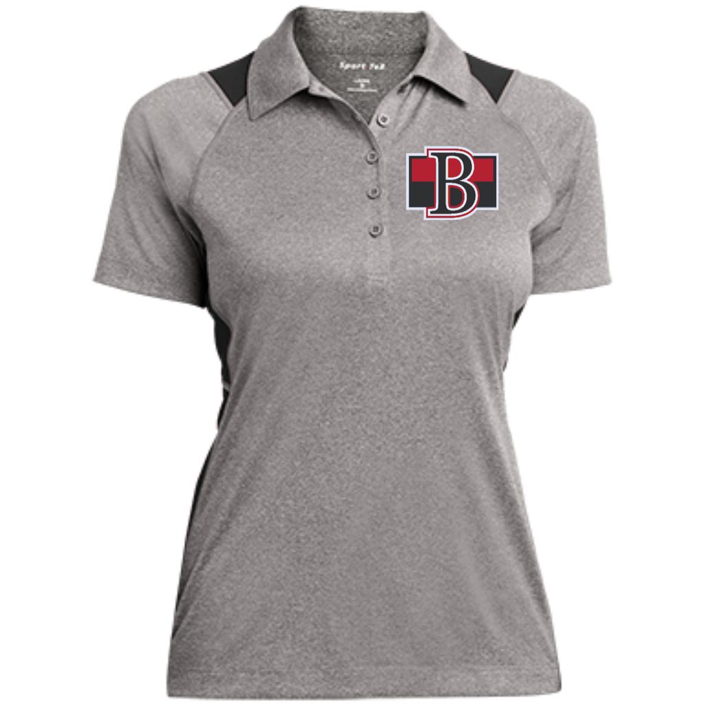 Belleville Senators Ladies' Heather Moisture Wicking Polo