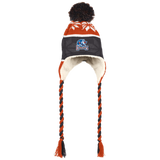 Bakersfield Condors Hat with Ear Flaps and Braids