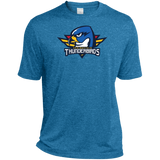 Springfield Thunderbirds Primary Logo Heather Dri-Fit Moisture-Wicking T-Shirt