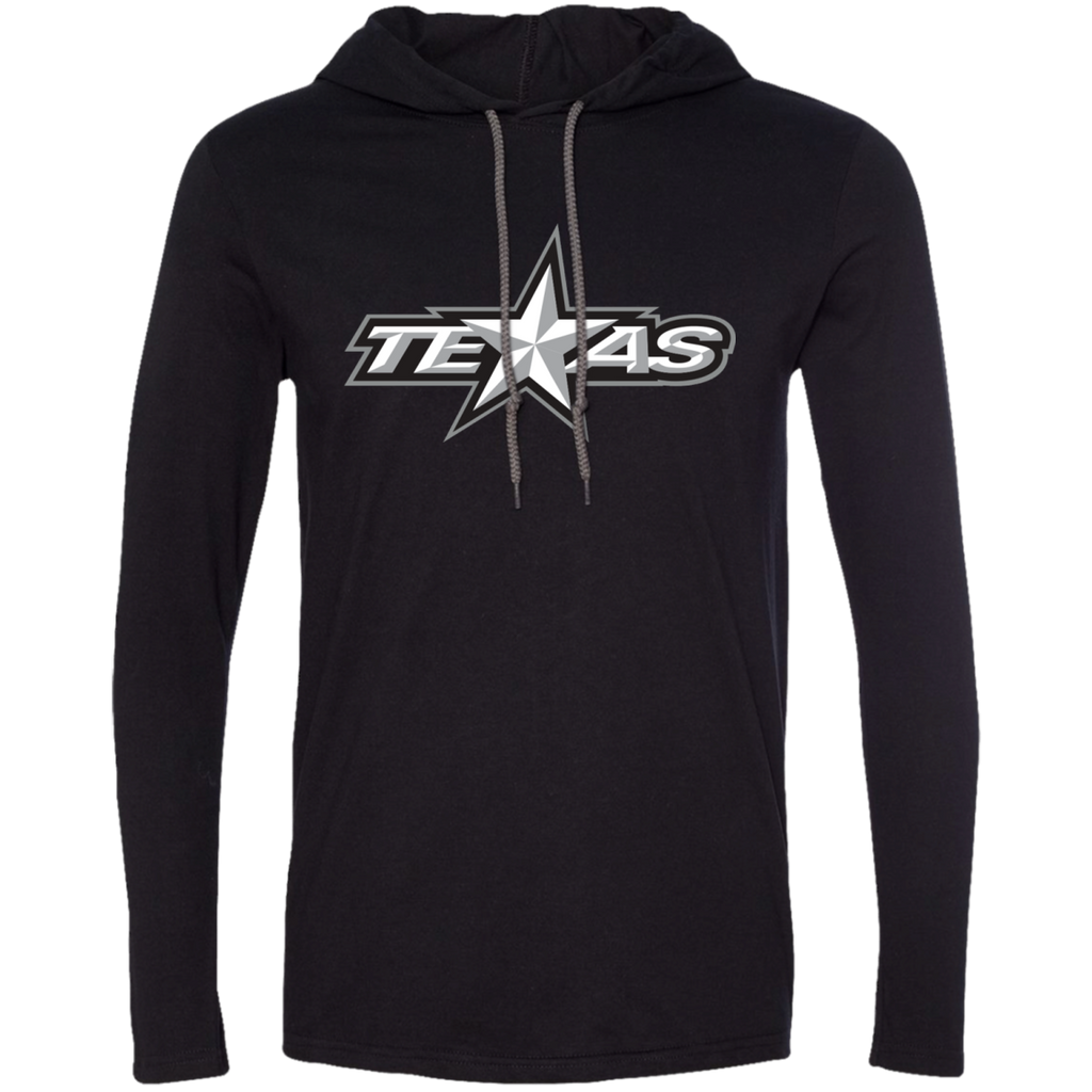 Texas Stars Adult Long Sleeve T-Shirt Hoodie