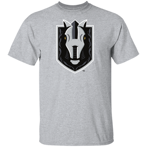 Henderson Silver Knights Adult Primary Logo Cotton Short Sleeve T-Shirt