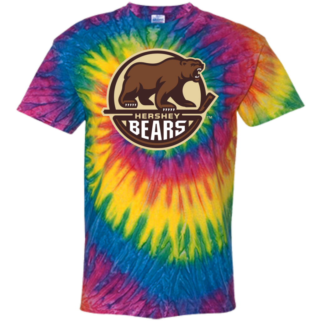 Hershey Bears Primary Logo Youth Tie Dye T-shirt
