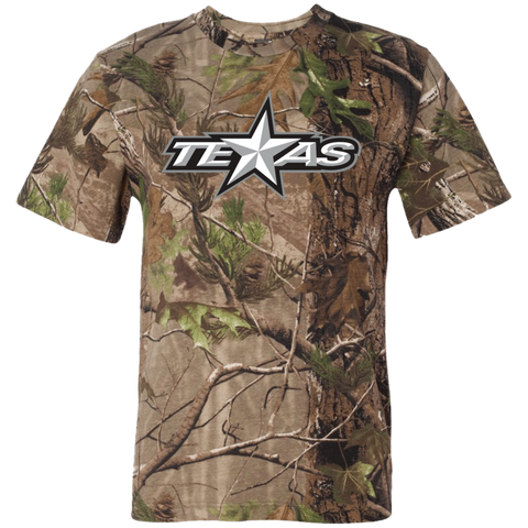 Texas Stars Adult Short Sleeve Camouflage TShirt