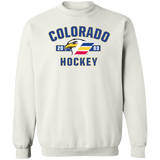 Colorado Eagles Adult Established Crewneck Pullover Sweatshirt