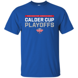 Rochester Americans Adult 2018 Postseason Cotton T-Shirt