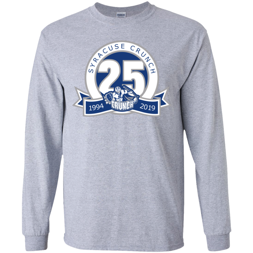 Syracuse Crunch 25th Anniversary Youth Long Sleeve T-Shirt