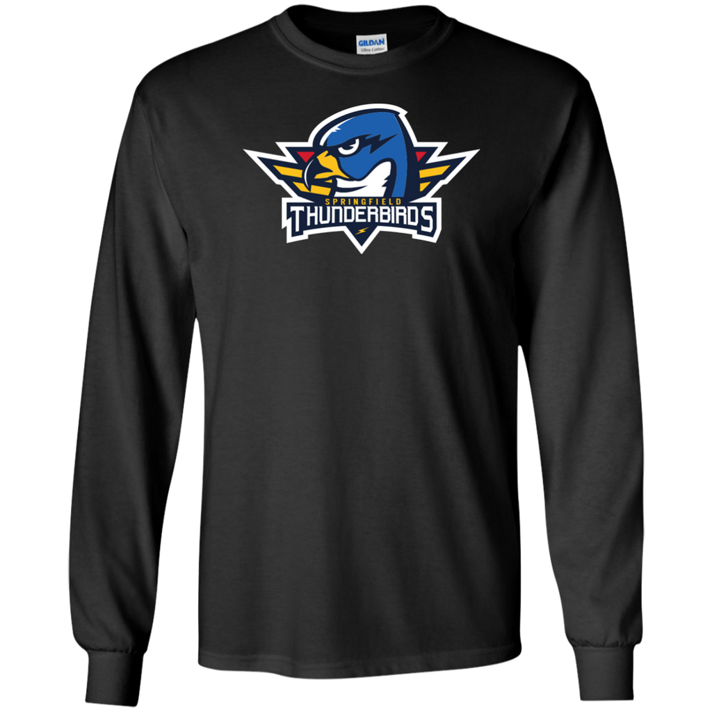 Springfield Thunderbirds Adult Long Sleeve Cotton T-Shirt