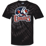 Bakersfield Condors Primary Logo Adult Tie Dye T-Shirt
