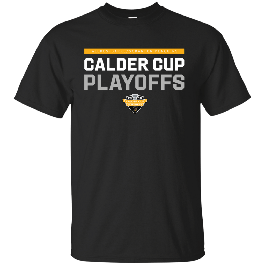 Wilkes-Barre/Scranton Penguins Youth 2018 Postseason Cotton T-Shirt