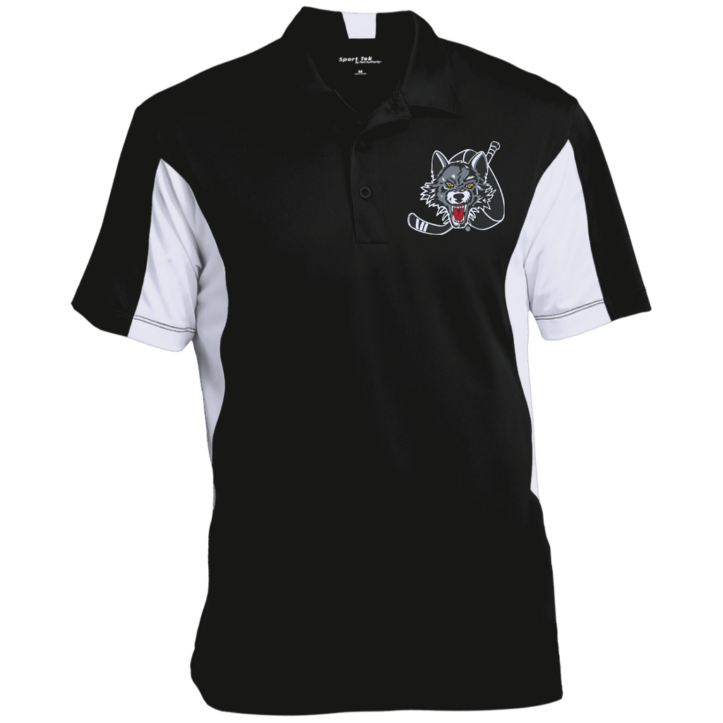 Chicago Wolves Men's Colorblock Performance Polo
