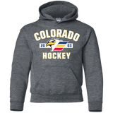Colorado Eagles Youth Established Pullover Hoodie