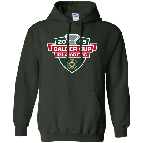 Iowa Wild 2019 Calder Cup Playoffs Adult Pullover Hoodie