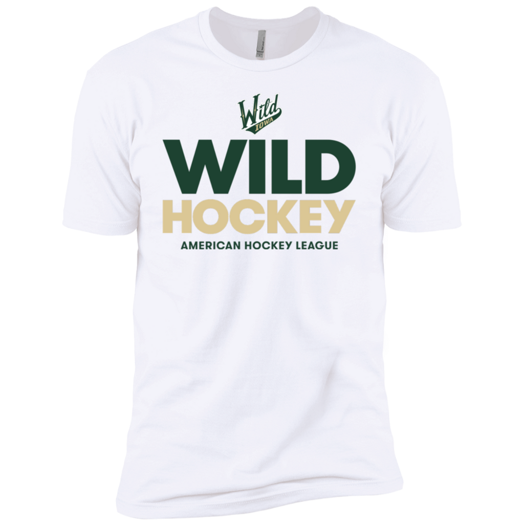 Iowa Wild Hockey Next Level Men's Short Sleeve T-Shirt