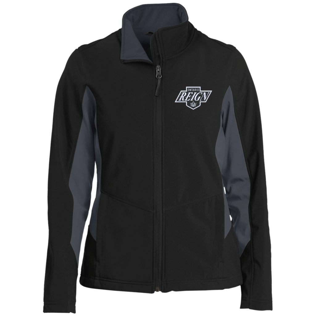 Ontario Reign Ladies' Colorblock Soft Shell Jacket