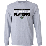 Texas Stars Adult 2018 Postseason Long Sleeve Cotton T-Shirt