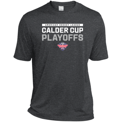 2018 Calder Cup Playoffs Adult Heather Dri-Fit Moisture-Wicking T-Shirt