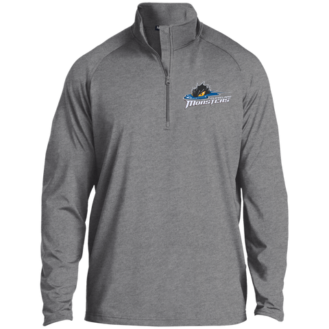 Cleveland Monsters Half Zip Raglan Performance Pullover