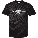 Texas Stars Adult Short Sleeve Tie Dye T-Shirt