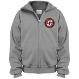 Stockton Heat Youth Embroidered Full Zip Hoodie