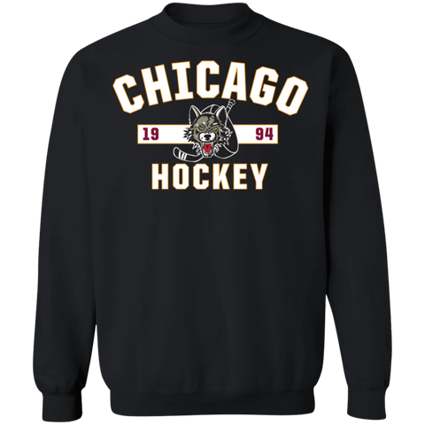 Chicago Wolves Adult Established Crewneck Sweatshirt