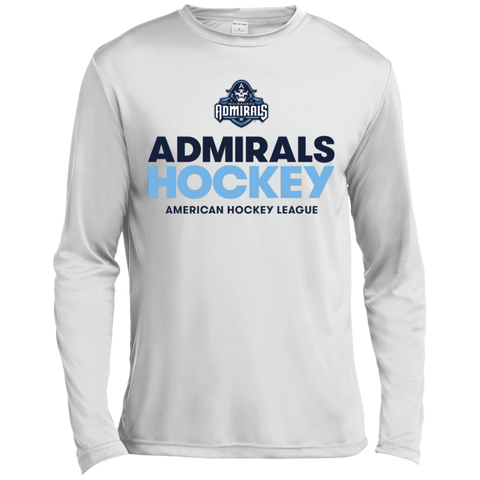 Milwaukee Admirals Hockey Long Sleeve Moisture Absorbing T-Shirt
