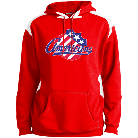 Rochester Americans Adult Colorblock Pullover Sweatshirt