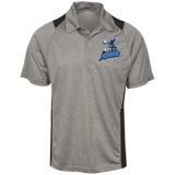 Manitoba Moose Heather Moisture Wicking Polo