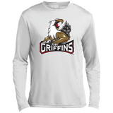 Grand Rapids Griffins Primary Logo Long Sleeve Moisture Absorbing Shirt