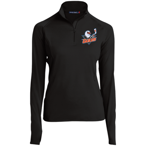 San Diego Gulls Women's Half Zip Performance Pullover (sidewalk sale)