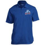 Hartford Wolf Pack Micropique Tag-Free Flat-Knit Collar Polo