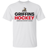 Grand Rapids Griffins Hockey Adult Short Sleeve Cotton T-Shirt