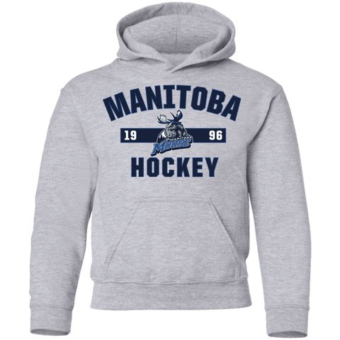 Manitoba Moose Youth Established Pullover Hoodie