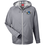 Springfield Thunderbirds 365 Men's Heathered Performance Hooded Jacket