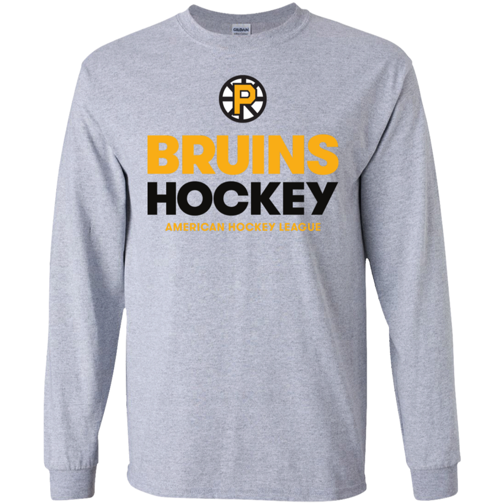Providence Bruins Hockey Adult Long Sleeve T-Shirt
