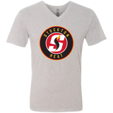 Stockton Heat Men's Next Level Triblend V-Neck T-Shirt