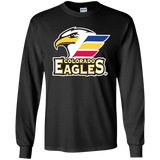 Colorado Eagles Primary Logo Youth Long Sleeve T-Shirt