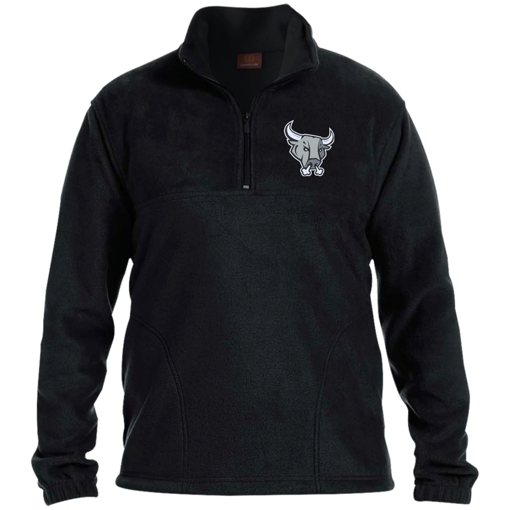 San Antonio Rampage Adult Embroidered 1/4 Zip Fleece Pullover (sidewalk sale)