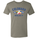 Colorado Eagles Established Next Level Men's Triblend T-Shirt