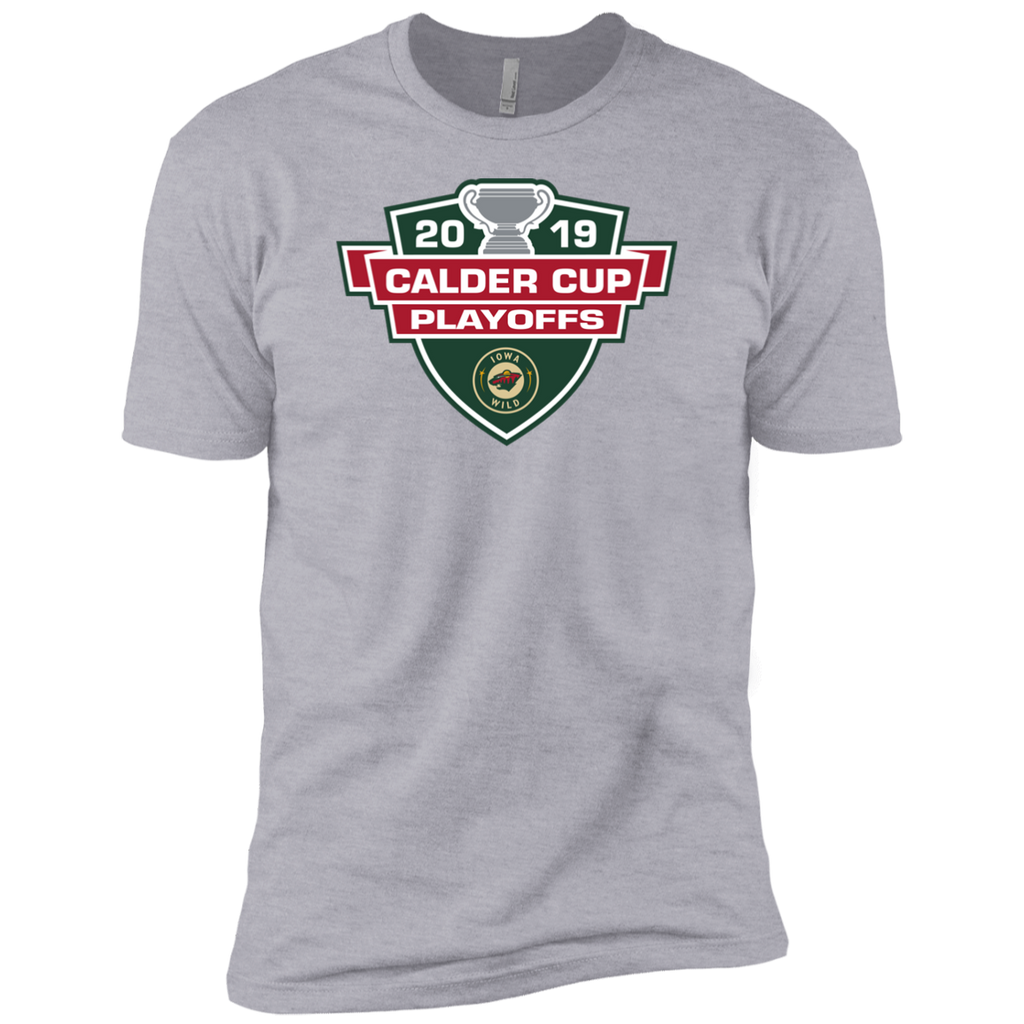Iowa Wild 2019 Calder Cup Playoffs Next Level Adult Premium Short Sleeve T-Shirt